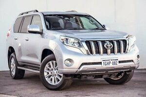 2016 Toyota Landcruiser Prado GDJ150R VX Silver 6 Speed Sports Automatic Wagon Myaree Melville Area Preview
