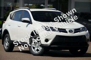 2013 Toyota RAV4 ZSA42R GX 2WD White 6 Speed Manual Wagon Prospect Prospect Area Preview