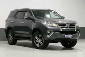 2015 Toyota Fortuner GUN156R GXL Graphite 6 Speed Automatic Wagon