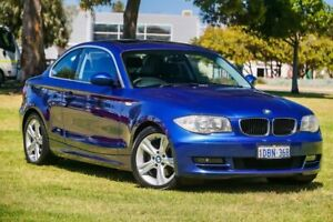 2009 BMW 125i E82 125i Blue 6 Speed Automatic Coupe Burswood Victoria Park Area Preview