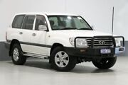 2006 Toyota Landcruiser UZJ100R Upgrade II GXL (4x4) White 5 Speed Automatic Wagon Bentley Canning Area Preview