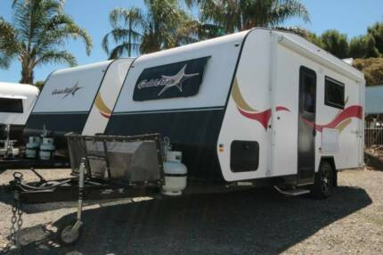 17.6ft Goldstar RV with Full Ensuite, Setup for Free Camping Berrilee Hornsby Area Preview