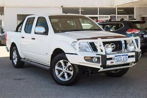 2013 Nissan Navara D40 S5 MY12 ST-X 550 White 7 Speed Sports Automatic Utility Osborne Park Stirling Area Preview