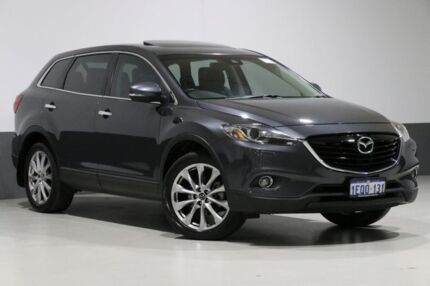 2014 Mazda CX-9 MY14 Grand Touring Grey 6 Speed Auto Activematic Wagon Bentley Canning Area Preview