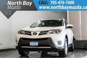 2015 Toyota RAV4 Limited with Bluetooth, ECO Mode, New Tires!