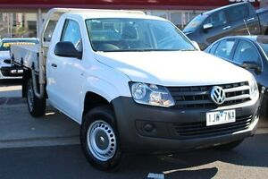 2012 Volkswagen Amarok 2H MY12.5 TDI340 White 6 Speed Manual Cab Chassis Cheltenham Kingston Area Preview