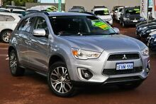 2015 Mitsubishi ASX XB MY15 LS 2WD Silver 6 Speed Constant Variable Wagon Cannington Canning Area Preview
