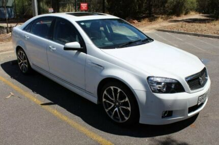 2016 Holden Caprice WN II MY16 V White 6 Speed Sports Automatic Sedan Thebarton West Torrens Area Preview