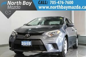 2015 Toyota Corolla CE with Auto Transmission, Bluetooth, A/C