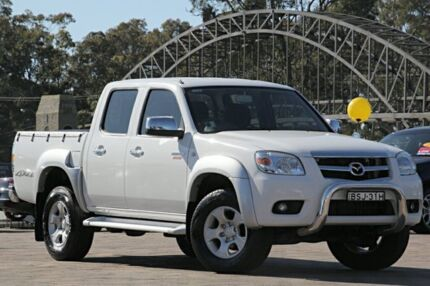 2010 Mazda BT-50 B3000 Boss SDX Freestyle White 5 Speed Automatic Utility Warwick Farm Liverpool Area Preview