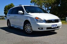 2011 Kia Grand Carnival VQ MY11 SLi White 6 Speed Sports Automatic Wagon Claremont Nedlands Area Preview