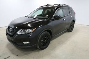 2018 Nissan Rogue AWD MIDNIGHT CVT Heated Seats, Bluetooth, Navi