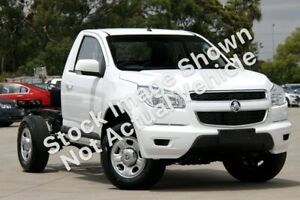 2014 Holden Colorado RG MY14 LX 4x2 White 6 Speed Sports Automatic Cab Chassis Hendra Brisbane North East Preview