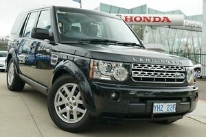 2012 Land Rover Discovery 4 Series 4 MY12 TdV6 CommandShift Sumatra Black 6 Speed Sports Automatic Pearce Woden Valley Preview
