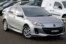 2013 Mazda 3 BL10F2 MY13 Maxx Sport Silver 6 Speed Manual Hatchback Baulkham Hills The Hills District Preview