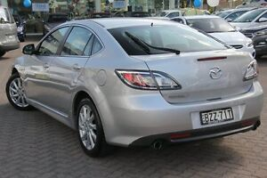 2011 Mazda 6 GH MY11 Touring Silver 5 Speed Auto Activematic Hatchback Zetland Inner Sydney Preview