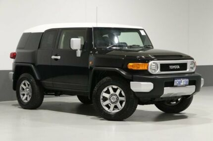 2014 Toyota FJ Cruiser GSJ15R MY14 Black 5 Speed Automatic Wagon Bentley Canning Area Preview