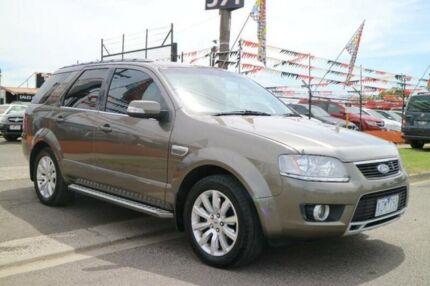 2010 Ford Territory SY Mkii Ghia (4x4) Gold 6 Speed Auto Seq Sportshift Wagon Brooklyn Brimbank Area Preview