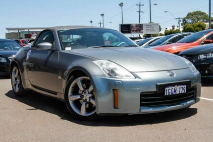 2007 Nissan 350Z Z33 MY07 Track Silver 6 Speed Manual Roadster Perth Perth City Area Preview