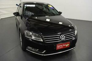 2012 Volkswagen Passat 3C MY13 118 TSI Black 7 Speed Automatic Sedan Moorabbin Kingston Area Preview