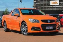 2013 Holden Ute VF MY14 SV6 Ute Orange 6 Speed Sports Automatic Utility Fremantle Fremantle Area Preview