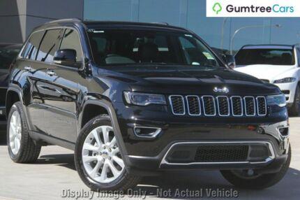 2017 Jeep Grand Cherokee WK MY17 Limited Diamond Black 8 Speed Sports Automatic Wagon