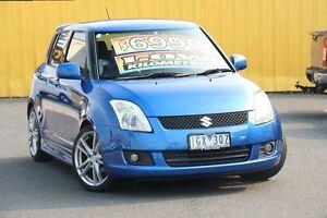 2009 Suzuki Swift RS415 GLX Blue 5 Speed Manual Hatchback Heatherton Kingston Area Preview