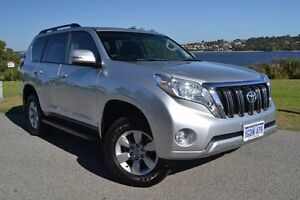 2016 Toyota Landcruiser Prado GDJ150R GXL Silver Pearl 6 Speed Sports Automatic Wagon Claremont Nedlands Area Preview
