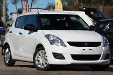 2011 Suzuki Swift FZ GL White 5 Speed Manual Hatchback Kippa-ring Redcliffe Area Preview
