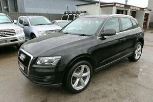 2009 Audi Q5 8R MY10 TDI S Tronic Quattro Black 7 Speed Sports Automatic Dual Clutch Wagon