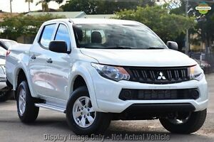 2016 Mitsubishi Triton MQ MY16 GLX+ Double Cab White 5 Speed Sports Automatic Utility Wilson Canning Area Preview