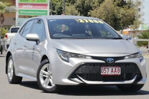 2019 Toyota Corolla ZWE211R Ascent Sport E-CVT Hybrid Silver Pearl 10 Speed Constant Variable Upper Mount Gravatt Brisbane South East Preview
