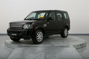 2009 Land Rover Discovery 4 Series 4 10MY TdV6 CommandShift HSE Black 6 Speed Sports Automatic Wagon Old Guildford Fairfield Area Preview