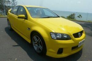 2011 Holden Commodore VE II SS Yellow 6 Speed Sports Automatic Sedan