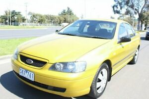 2002 Ford Falcon BA XT Green 4 Speed Sports Automatic Sedan