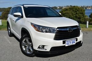 2016 Toyota Kluger GSU55R Grande AWD Crystal Pearl 8 Speed Sports Automatic Wagon Claremont Nedlands Area Preview