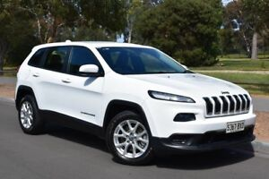2014 Jeep Cherokee KL Sport White 9 Speed Sports Automatic Wagon St Marys Mitcham Area Preview