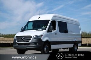 2019 Mercedes Benz Sprinter Crew Van 4500 170