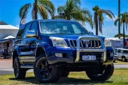 2006 Toyota Landcruiser Prado GRJ120R GXL (4x4) Blue 5 Speed Automatic Wagon Greenfields Mandurah Area Preview