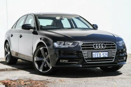2013 Audi A4 B8 8K MY14 Multitronic Black 8 Speed Constant Variable Sedan Bellevue Swan Area Preview