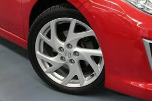 2011 Mazda 6 GH1052 MY12 Luxury Sports Red 5 Speed Sports Automatic Hatchback Hamilton East Newcastle Area Preview