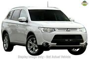 2015 Mitsubishi Outlander ZJ MY14.5 LS 4WD White 6 Speed Constant Variable Wagon Burnie Area Preview