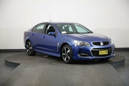 2017 Holden Commodore VF II MY17 SV6 Blue 6 Speed Automatic Sedan Smithfield Parramatta Area Preview