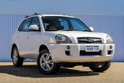 2009 Hyundai Tucson JM MY09 City SX White 5 Speed Manual Wagon Embleton Bayswater Area Preview