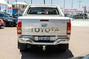 2007 Toyota Hilux KUN26R MY07 SR5 Silver 4 Speed Automatic Utility
