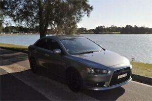 2015 Mitsubishi Lancer CJ MY15 LS Grey 6 Speed CVT Auto Sequential Sedan Five Dock Canada Bay Area Preview