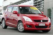 2012 Suzuki Swift FZ Extreme Red 4 Speed Automatic Hatchback Hillcrest Logan Area Preview