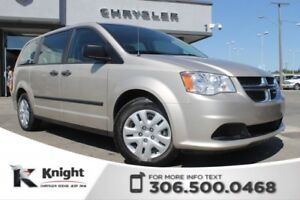 2014 Dodge Grand Caravan SE - LOW KMs - 3rd Row Stow-N-Go - Powe