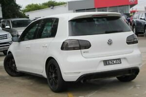 2010 Volkswagen Golf VI MY10 GTI DSG White 6 Speed Sports Automatic Dual Clutch Hatchback