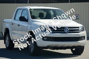 2015 Volkswagen Amarok 2H MY16 TDI420 4MOTION Perm Core Candy White 8 Speed Automatic Utility